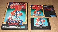 SONIC 2 Mega Drive COMPLETO con MANUAL