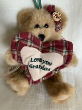 Boyds Bears Plush Ornament Grammykins Angel Bear