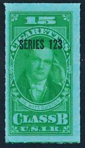 UNITED STATES TB220 CLASS B, SERIES 123 (1953) 15 GREEN
