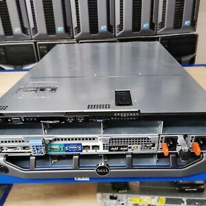 DELL POWERESDGE R420 SERVER 32GB RAM DUAL E5-2420V2 H710