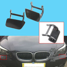 For BMW E60 E61 525i 528i 530i Headlight Washer Nozzle Cover Cap Unpainted R+L