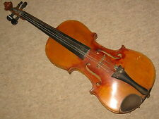 Interesting, nice  and  old  violin