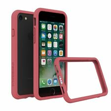 iPhone 8/7 Case RhinoShield Bumper [11 Ft Drop Tested]ShockProof Tech-Coral Pink