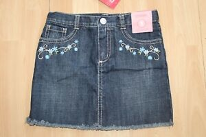 NWT GIRLS GYMBOREE SZ 5 DENIM SKIRT COWGIRLS