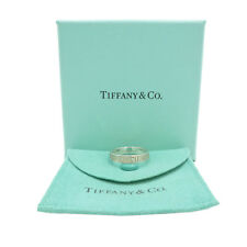 Authentic Tiffany & Co. Atlas Ring 925 Sterling Silver US:7 #S210048