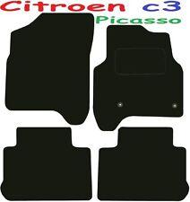 CITROEN c3 PICASSO Deluxe qualità Tappetini su misura 2008 2009 2010 2011 2012 2013 20