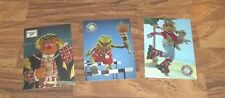 FULL SET OF MUPPETS TEKCHROME TRADING CARDS T1,T2,T3 BY CARDZ 1993