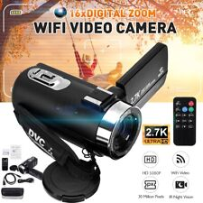 3'' HD 1080P 16X ZOOM Digital WiFi Video Camera  IR Night Vision DV Camcorde