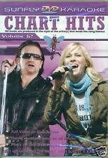 CHART HITS VOLUME 12 KARAOKE DVD NEU & OVP D14