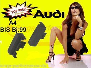 Audi A4 A6 A8 Radio Revêtement Radio-Blende / Radio-Rahmen Adaptateur Radio Noir