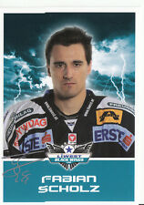 Fabian Scholz Black Wings Linz 2011-12 TOP AK Orig. Sign. Eishockey +A38205