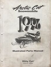 1996 Arctic Cat Snowmobile Kitty Cat Parts Manual P/N 2255-295 (707)