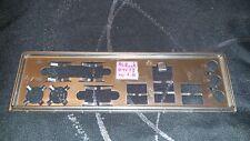 Panneau shield i/o AsRock P4V88 REV 1.10 plaque arriere