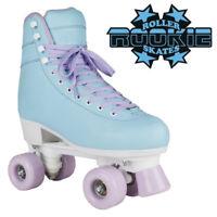 Rookie 'Bubblegum' V2 Girls Rollerskates Kids Adults Pastel Blue Roller Skates