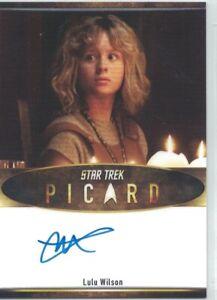 Star Trek Picard auto card Lulu Wilson as Kestra Troi-Riker (Bordered)(Scarce)
