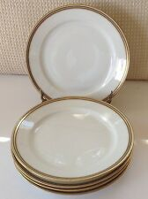 "Limoges France OLD ABBEY 7 3/8""  Dessert/Bread /Salad Plates Lot of 5 EUC!"