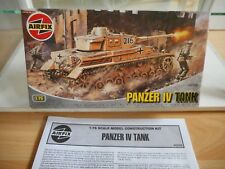 Modelkit Airfix Panzer IV Tank on 1:76 in Box