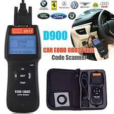 2017 D900 Universal Car Fault Code Reader CAN EOBD OBD2 Scanner Diagnostic Tool