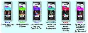KINESIO Pre Cut Kinesiology Tape 3 PACK - Shoulder Neck Back Foot Knee Wrist.