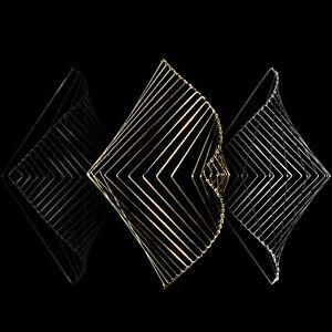 X3 Square Wave Classic Lunar Gold, Metallic Silver & Eclipse Bronze