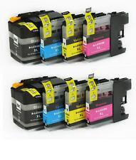 8 TINTAS COMPATIBLES NON OEM LC529 LC 529 LC525  LC 525 XL Brother MFC-J200