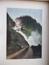 SUEDE/NORVEGE:Gravure 19°in folio couleur/ LE LAATEFOS