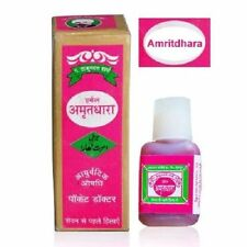 5 Pack of Amritdhara - relief from stomach gas, bloating 15 ml