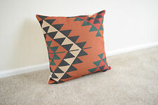 Cotton Blend Geometric Square Decorative Cushions