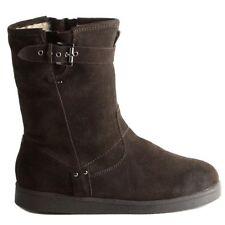 New Marc Fisher dark brown Suede Earra Boots 6 winter