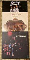 Blues ErIc Clapton Jack Bruce Ginger Baker Cream Live / Live II / Goodbye Cream