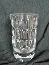 Kosta Boda Cut Crystal Vase Signed #46194 Warff *Mint*