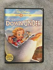 The Rescuers Down Under (DVD, 2000, Gold Collection Edition) OOP