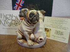 Harmony Kingdom Pug and Play Dogs UK Made Box Figurine