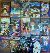 Wholesale Lot of 15 Anime VHS Video New Subtitles in English Dark Warrior Jihad