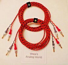 Belden 9497 30 ft Speaker Cables  For Vintage tube stereos with Legendary Tone!
