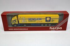 Herpa MB Henglein 1:87 Feinkost vom Feinsten OVP Design W.Rosner