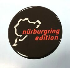 Nurburgring Edition Sticker/Decal - 102mm DIAMETER HIGH GLOSS DOMED GEL FINISH