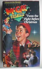 📼 MCGEE AND ME 'TWAS THE FIGHT BEFORE CHRISTMAS VHS FOCUS ON THE FAMILY 📼