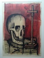 Bernard BUFFET (1928-1999) Vanity signed and dated 1961 numeroted 53/100