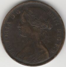 1862 Victoria One Penny | Pennies2Pounds