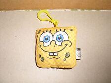 NANCO Spongebob Squarepants Backpack Plush Clip Nickelodeon 3''