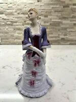 "Coalport Ladies of Fashion ""Allison"" Bone China  HTF RARE"