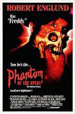 THE PHANTOM OF THE OPERA (1989) ORIGINAL MOVIE POSTER  -  ROLLED