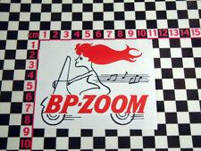 Vintage Style Scooter Petrol Sticker - Vespa Lambretta ISO