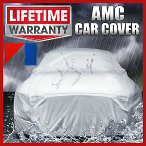 AMC [OUTDOOR] CAR COVER ☑️ All Weather ☑️ Best ☑️ Waterproof ✔CUSTOM✔FIT