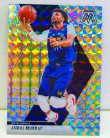 Jamal Murray 2019-20 SILVER WAVE MOSAIC PRIZM Refractor Card #141 Denver Nuggets