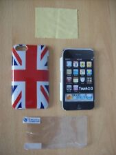 Back Cover For iPod Touch 2 Union Jack With Screen Protector Qubits Range New