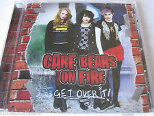 CARE BEARS ON FIRE: GET OVER IT! (14-track CD, 2009, S-Curve) NEW & SEALED!