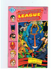 LOT JUSTICE LEAGUE EUROPE/INTERNATIONAL 18 32 36 58 59 + 1 QUATERLY #6 + 5 INDEX