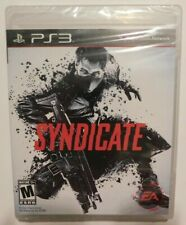 Syndicate (Sony PlayStation 3, 2012) New (Heavy wear to plastic wrap)